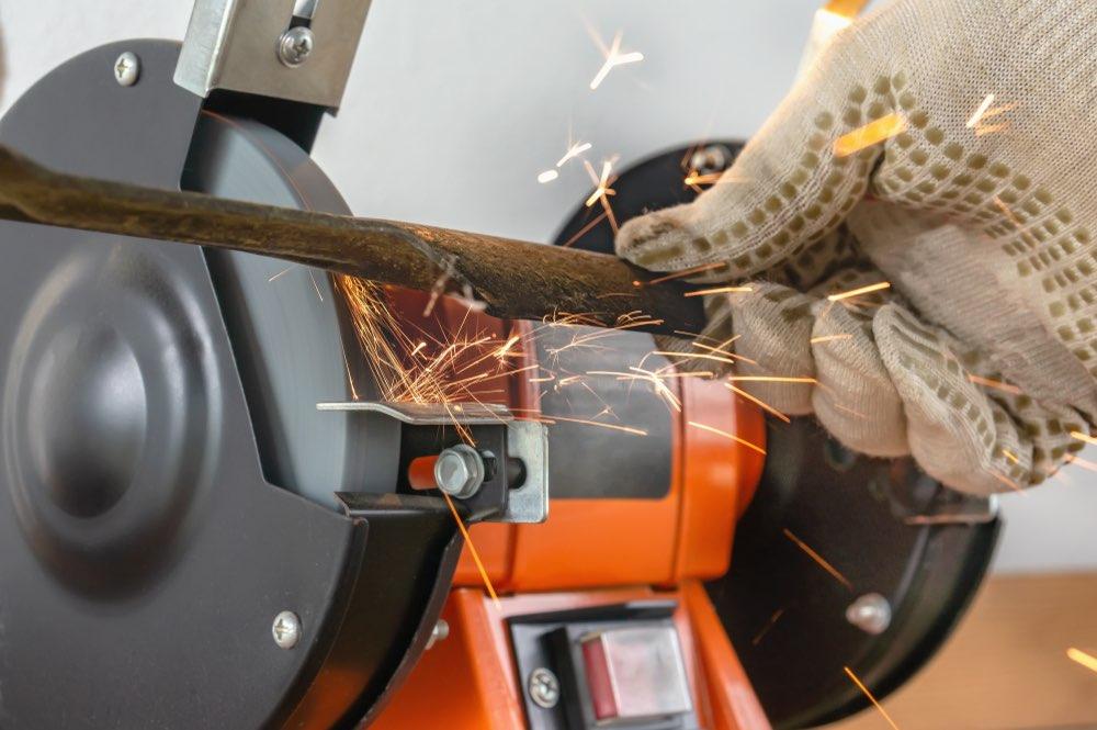 Messen van robot grasmaaier slijpen