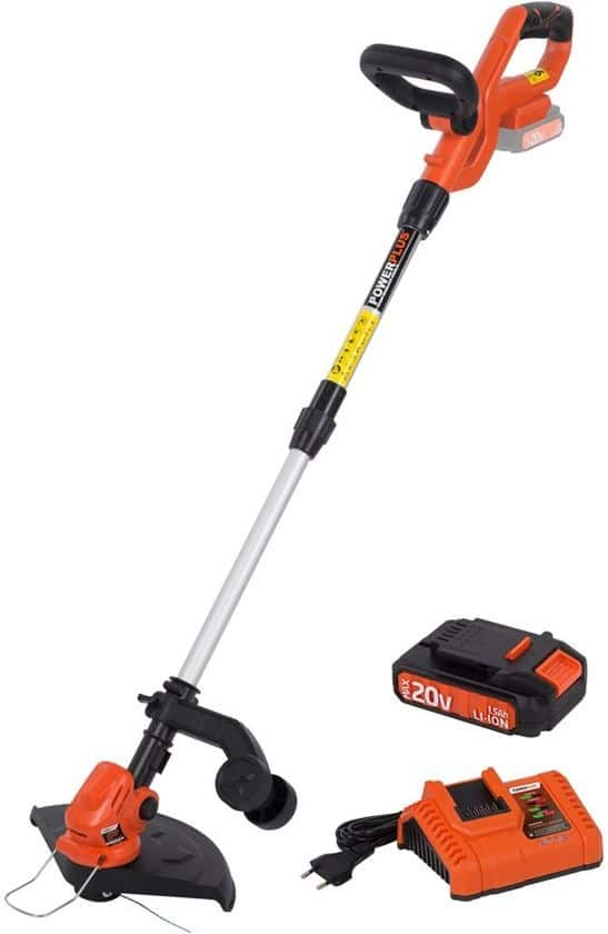 Powerplus Dual Power POWDPG7542 grastrimmer reviewed by Maaimachine.nl