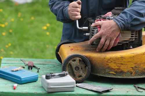 onderhoud motorgrasmaaier