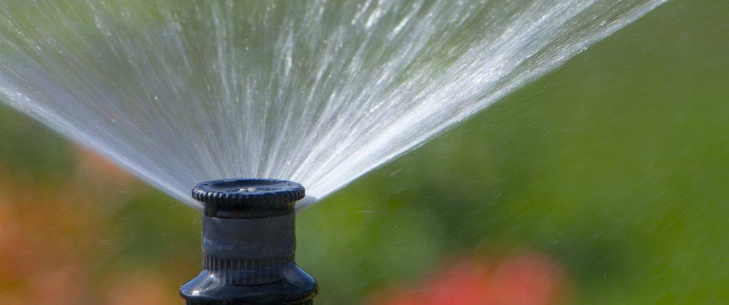 Sprinklersysteem voor de tuin