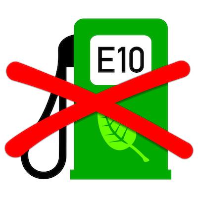 E10 benzine niet verstandig